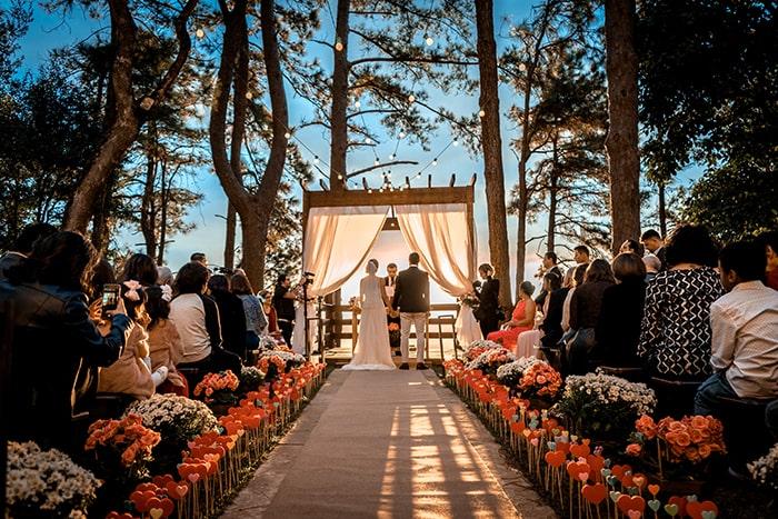 Aluguel de vans para casamentos