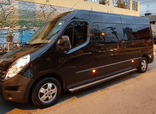 Aluguel de Vans transporte de funcionários